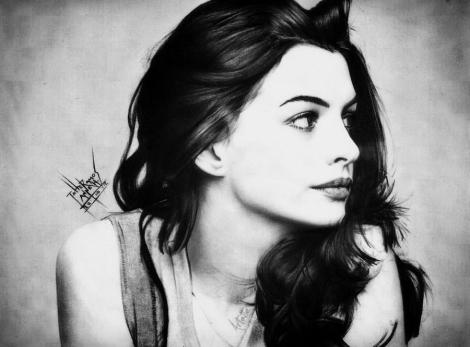 Anne Hathaway. Tatiane Ramos - ARTatte