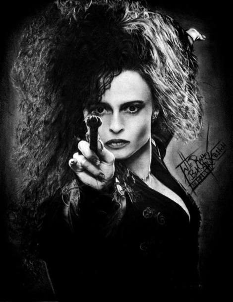 Bellatrix Lestrange - Tatiane Ramos - ARTatte