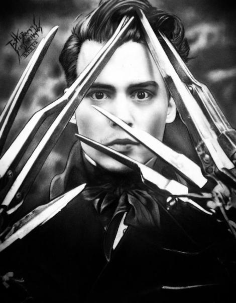 Edward Scissorhands - Tatiane Ramos - ARTatte