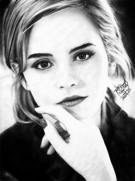 Emma Watson - Tatiane Ramos - ARTatte
