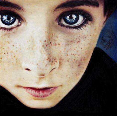 Henry - Inspirado na fotografia de Caitlin Worthington. - Tatiane Ramos - ARTatte