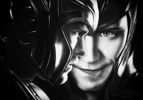 Thor Vs Loki - Tatiane Ramos - ARTatte